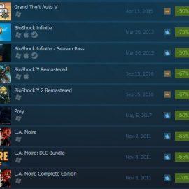 Steam Games on Sale this Week