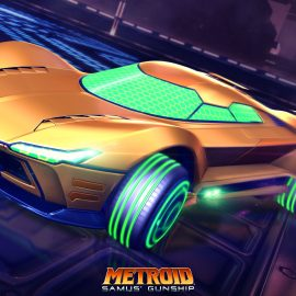 Nintendo Switch Rocket League Getting Metroid and Super Mario Battle Cars