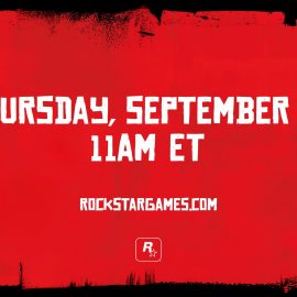 New Red Dead Redemption 2 trailer to drop September 28th