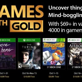 October's Games With Gold revealed starting with Gone Home: Console Edition and Rayman 3 HD