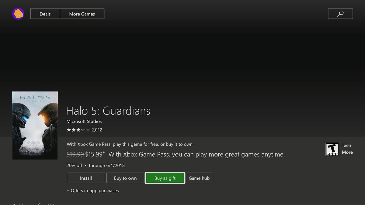 Game Gifting feature has arrived in the latest Xbox One