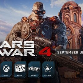 Gears of War 4 September Update Features New Maps, Achievements and Matchmaking Improvements