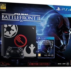Sony has announced the limited edition Star Wars Battlefront 2 PS4 Pro console