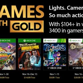 Games With Gold for November revealed