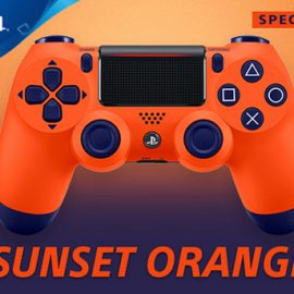 PlayStation Europe announces Sunset Orange PS4 Controller