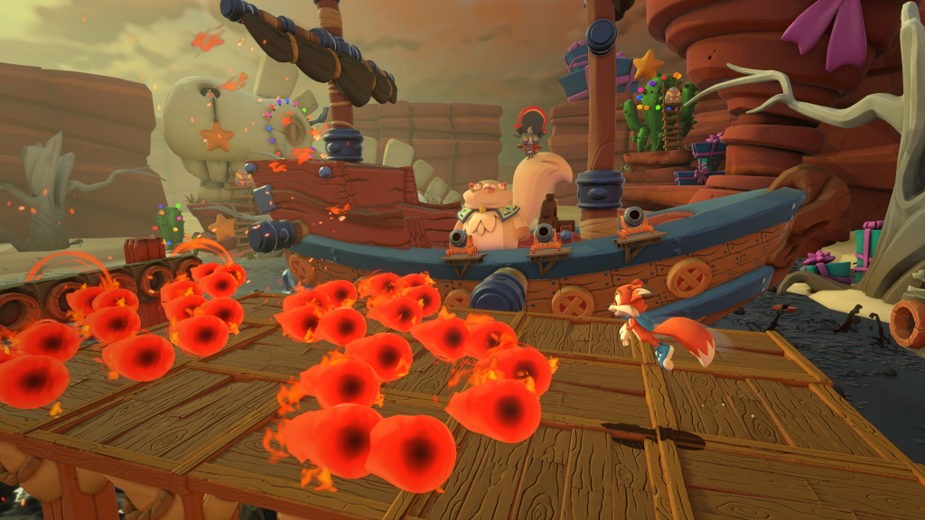 Super Lucky's Tale - Pirate Ship