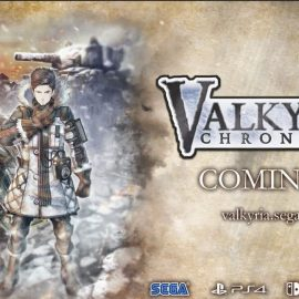 SEGA has announced Valkyria Chronicles 4 for the PS4/XB1 and Nintendo Switch