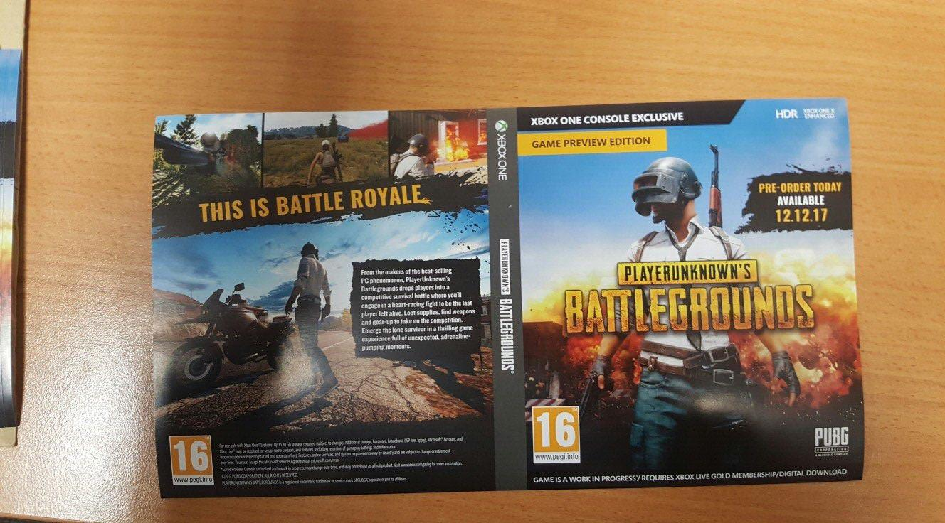Here is what the PUBG Physical Box Art looks like  — Rectify