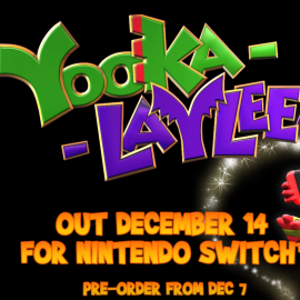 Yooka-Laylee coming to Nintendo Switch next month