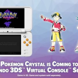 Pokémon Crystal Coming To 3DS In January