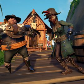 Microsoft's Sea Of Thieves is the number one game in the latest UK charts