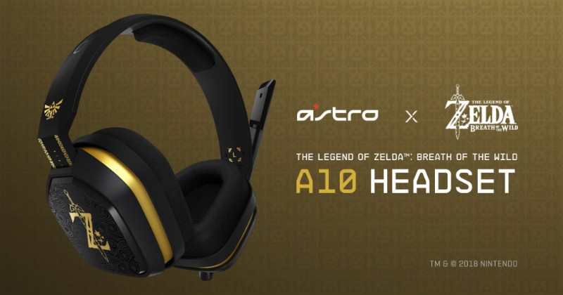 ASTRO Gaming Reveals Official Nintendo Switch A10 Headset Featuring The Legend of Zelda: Breath of the Wild