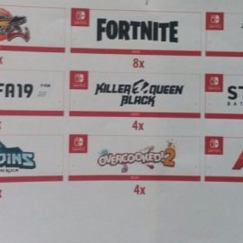 [Rumor] Possible Nintendo Switch 3rd party titles leaked