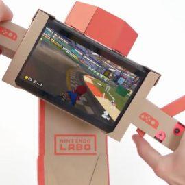 Nintendo Labo Handlebar Now Compatible With Mario Kart 8 Deluxe