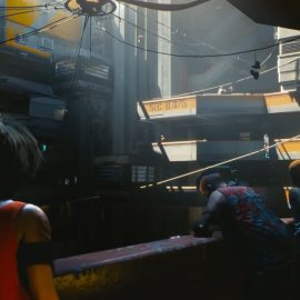 Cyberpunk 2077 Closes Xbox 2018 Press Conference