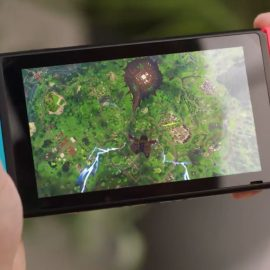 Gyro Aiming Comes To Fortnite On Switch