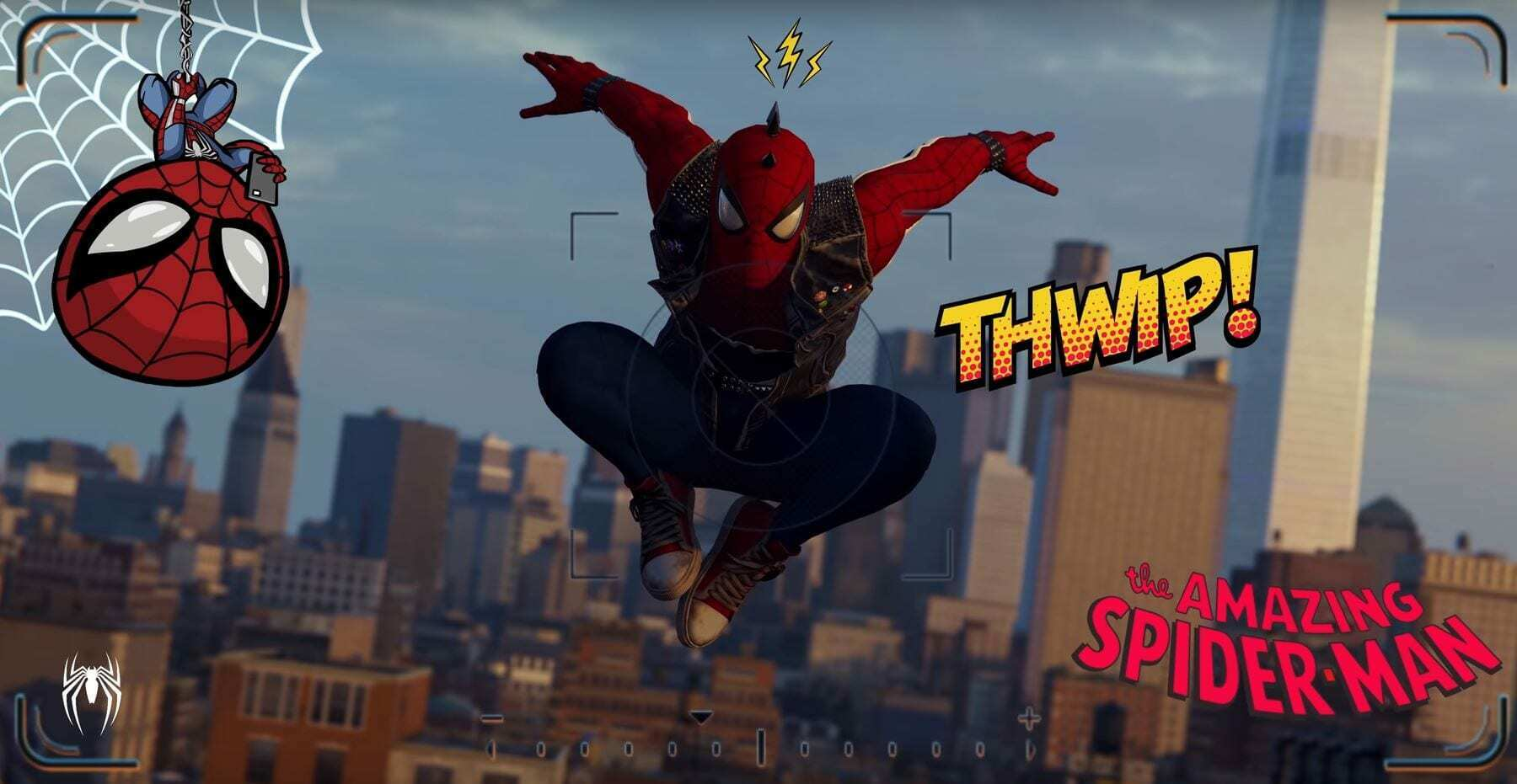 Spiderman Photo Mode