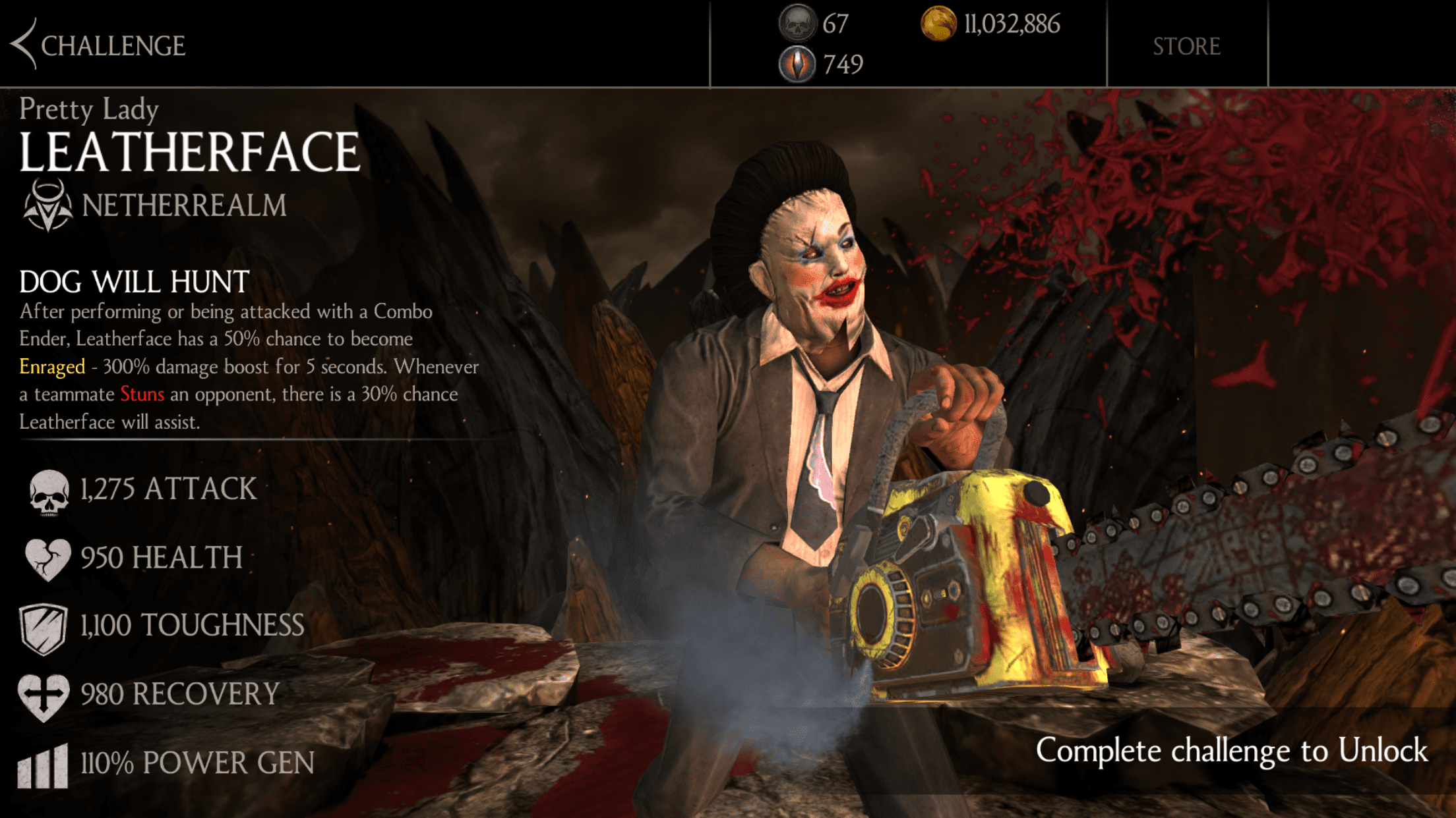 Mkx Mobile Halloween Challenges 2020 Leatherface is now on Mortal Kombat X mobile — Rectify