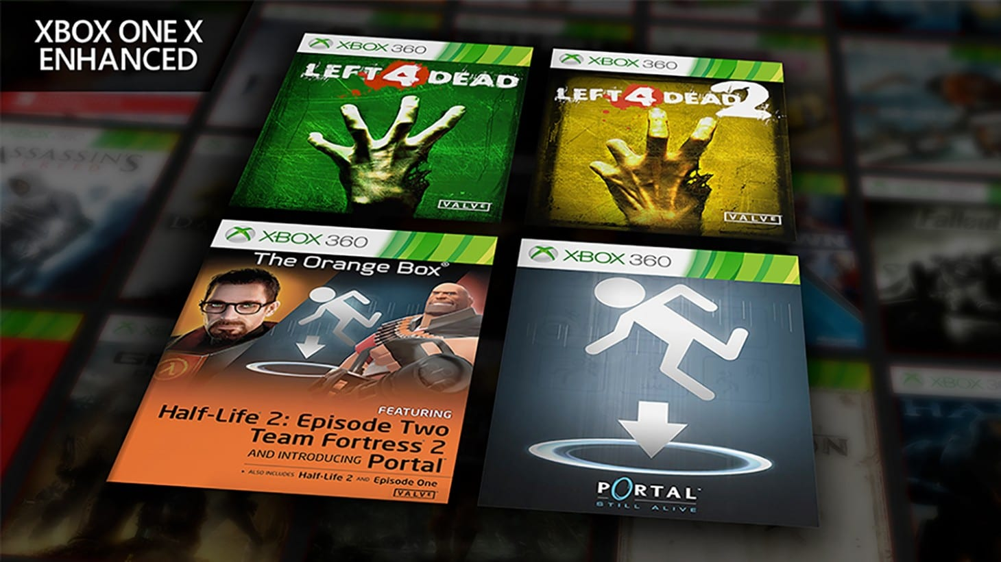 Valve Titles Being Added To Xbox X Enhanced List