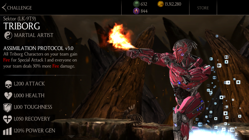 Smoke, Cyrax, and Sektor Triborg are this week's MKX mobile