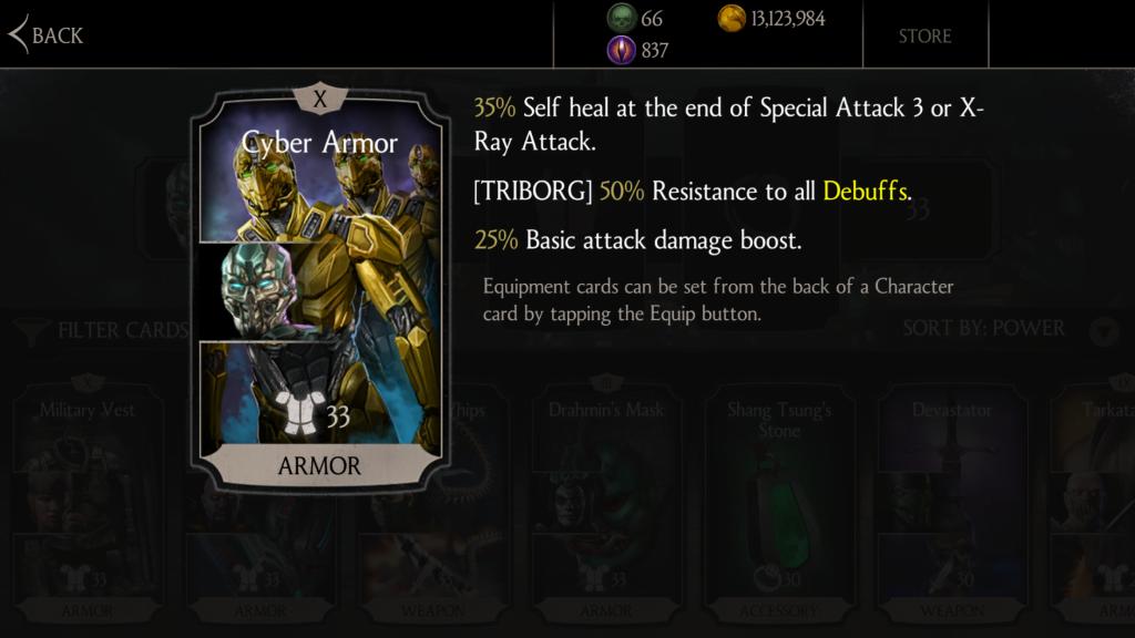 Sub-Zero Triborg is this week's Mortal Kombat X mobile