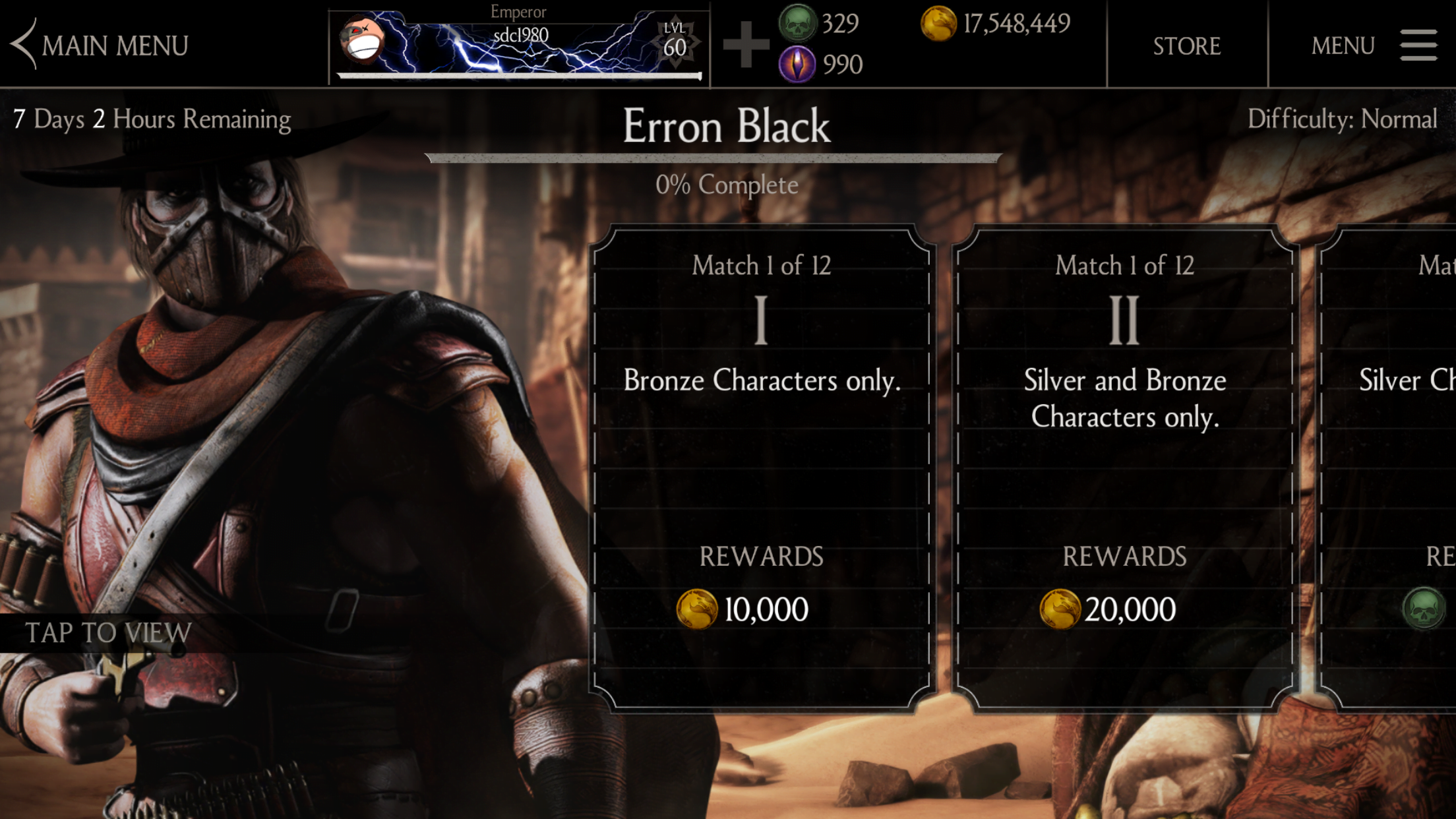 Erron Black Challenge