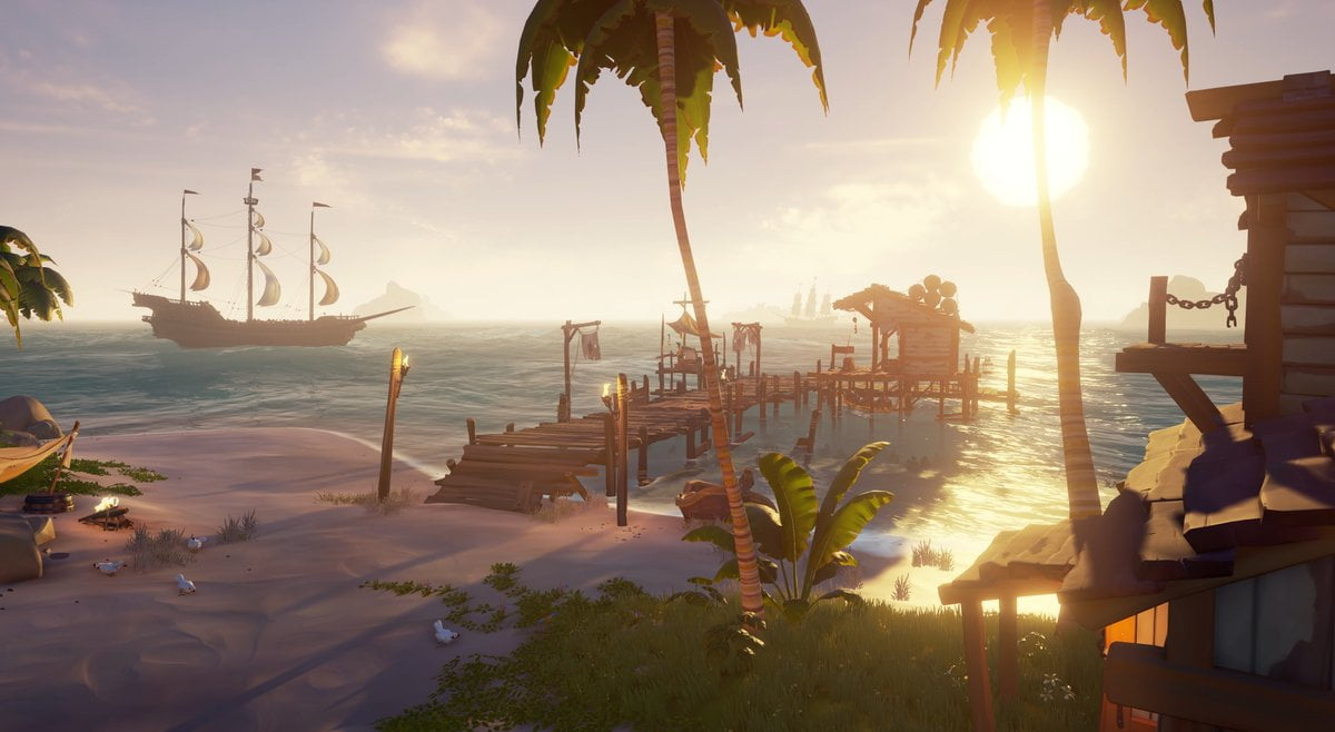 New Sea of Thieves Update Coming Reduces Install Size — Rectify