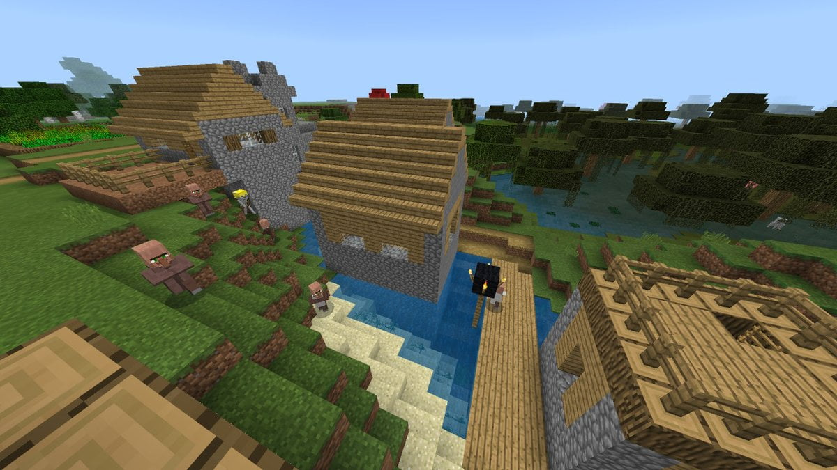 how to make villagers breed minecraft