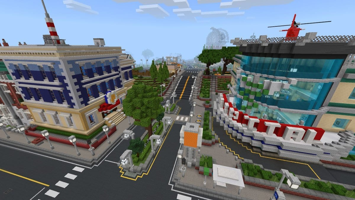 Minecraft Map Review: City Living — Rectify GamingRectify Gaming