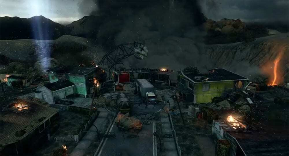 Zombies Moon Map on