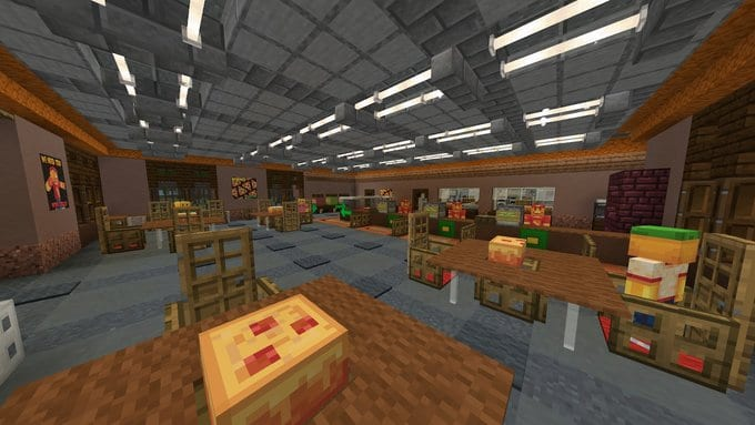 Minecraft Marketplace Map Review Pizza Delivery Simulator
