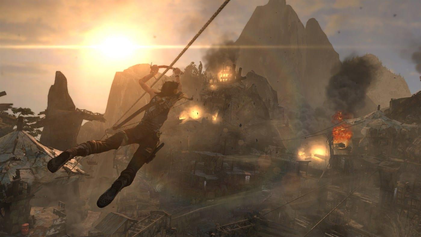 Tomb Raider: Definitive Edition And Farming Simulator 19