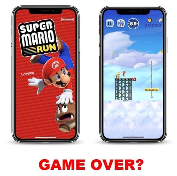 Nintendo exits mobile market