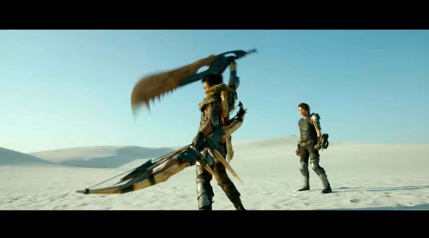 First Trailer For Monster Hunter Movie Revealed Rectify Gamingrectify Gaming